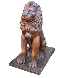 Лев сидя большой (3.10)